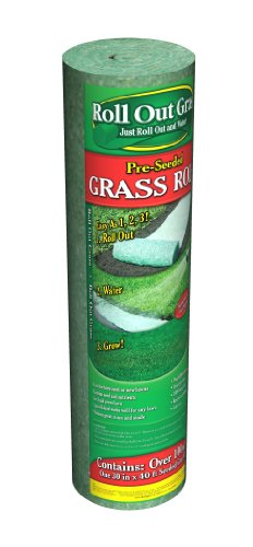 Instant Garden Roll : Roll out grass instant growing medium lawn landscaping