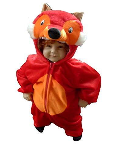 Fantasy World Girl's F21 Fox Costume (12 Months-2t)