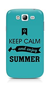 Amez Keey Calm and Enjoy Summer Back Cover For Samsung Galaxy Grand i9082
