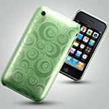 COVERS CASES APPLE IPHONE 3G 3GS GREEN SPIRAL BACK COVER CASE Accessories for mobile phones by Oliviasphones