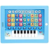 Educational Toy - IPad For Kids Learning/ Games/ Blue - White