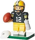 NFL Green Bay Packers Aaron Rodgers Gen 2 Mini Figure, Small