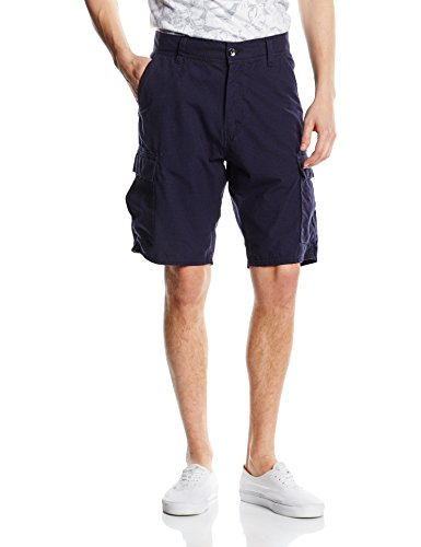 O' Neill-Pantaloni uomo LM Complex Check Cargo pantaloncini, Uomo, Hose LM Complex Check Cargo Shorts, blu, 32