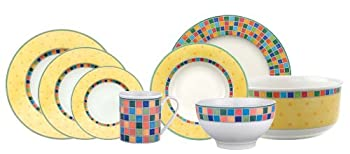 Villeroy &amp; Boch Twist Alea Limone 50-Piece Dinnerware Set