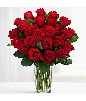 Mother's Day Flower Delivery- Two Dozen Red Roses