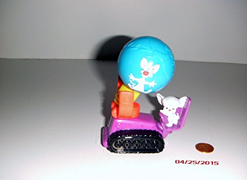 McDonalds Happy Meal Animaniacs Toy Pinky & the Brain Vehicle Toy #1 1994 - 1