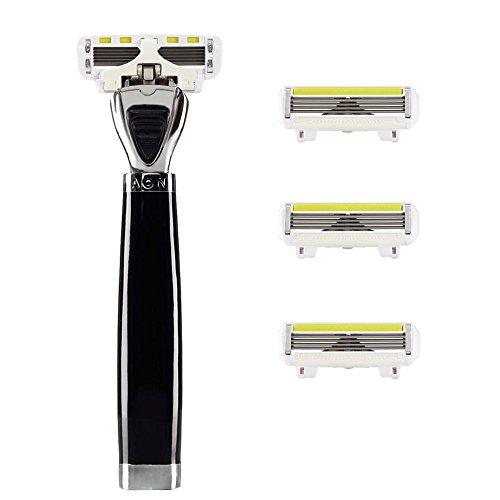 Rasoio Shave-Lab-Aon-Starter Set con 4lame