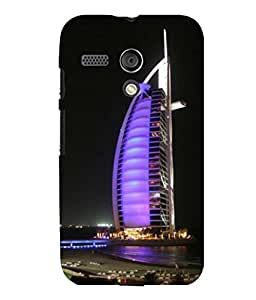 printtech Burj Al Arab Dubai Building Back Case Cover for Motorola Moto G X1032::Motorola Moto G (1st Gen)