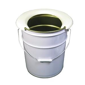 携帯簡易トイレ便座+ホワイトペール缶20Lセット