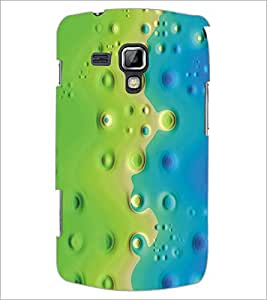 PrintDhaba Pattern D-5384 Back Case Cover for SAMSUNG GALAXY S DUOS S7562 (Multi-Coloured)