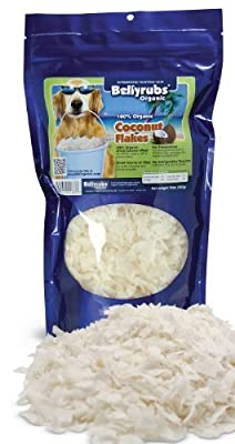 BellyRubs Organic 10-Ounce Coconut Flakes by Amazing Brands, Inc.