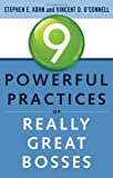 img - for 9 Powerful Practices of Really Great Bosses book / textbook / text book