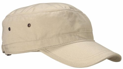 Econscious 100% Organic Cotton Twill Corps Hat (Oyster) front-236258