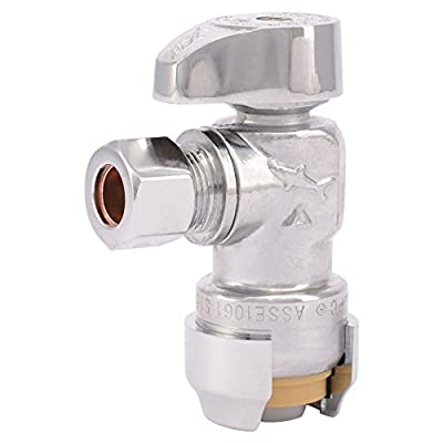 SharkBite 23037-0000LF Straight Stops and Fixture Supply Fittings, 1/2-Inch by 3/8-Inch by SharkBite