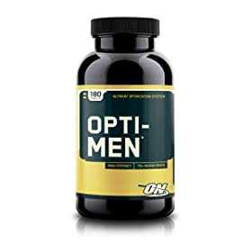 Optimum Nutrition Opti-Men Multivitamins, 180 tabs
