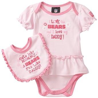 Amazon NFL Infant Toddler Girls Chicago Bears