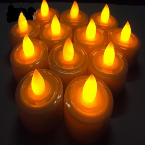 AGPtek® 100 Battery Operated Amber Yellow LED