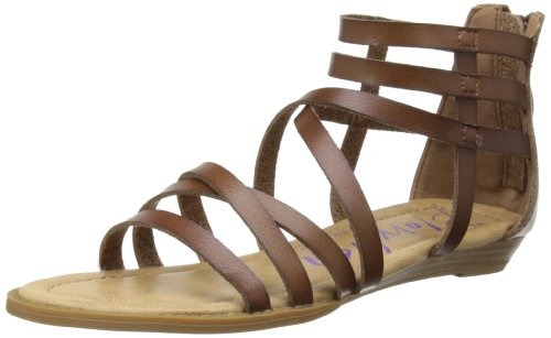 Blowfish Malibu Womens Belona Gladiator 3757 Whiskey Dye Cut Pu 6 UK, 39 EU