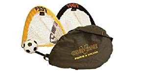 Buy PUGG 2.5 Footer Portable Training Goal Set (Two Goals, Bag, & Ball) by PUGG