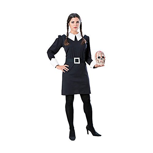 shindigz Halloween Festival Wednesday Addams Adult Costume Small