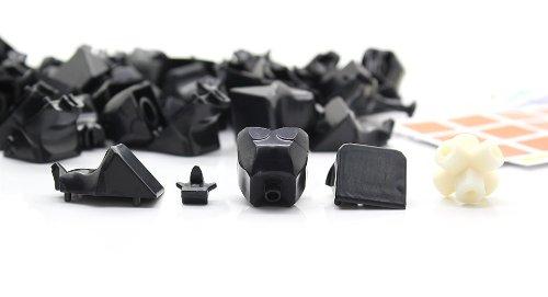 Dayan Zhanchi 3X3X3 Puzzle Speed Cube Diy Kit-Zhanchi 3X3X3 Diy, Black - (Premium Quality)