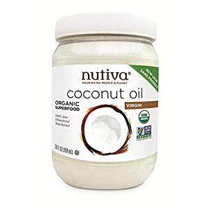 Nutiva Organic Coconut Oil 858g from Nutiva