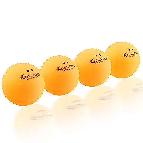 100 orange 2 star 40mm table tennis ball advanced training for 100 table tennis balls