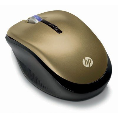 Wireless Optical Mobile Mouse 2.4GHz Butter Gold