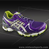 Asics Women's GEL-Nimbus 14 L.E Running Shoe,PurpL.E/Lime/Charcoal,8 B US