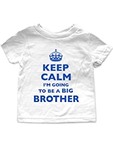 Keep calm i 39 m going to be a big brother tee shirt 3t for Big brother shirts for toddlers carters