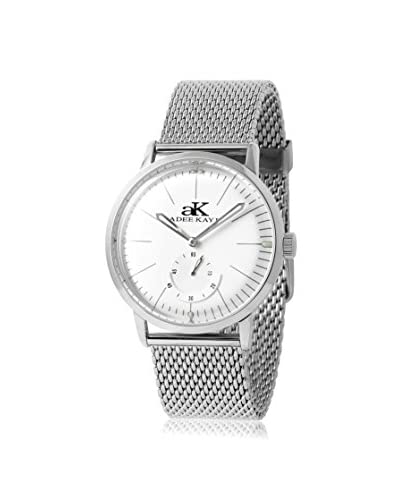 Adee Kaye Women's AK9044-M/SV Vintage Slim Collection Stainless Steel Mesh Watch