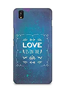 Amez Love is in the Air Back Cover For OnePlus X