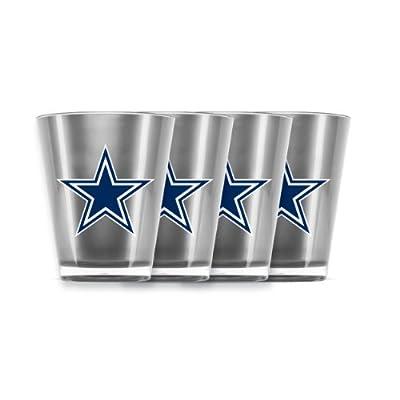 NFL Dallas Cowboys Shot Glass Set (4-Piece)