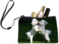 Rikki KnightTM Dog Designs Dogs Design Keys Coins Cards Cosmetic Mini Clutch Wristlet from Rikki Knight