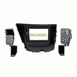 See OTTONAVI Hyundai Veloster 2012 and Up In-Dash Double Din Android Multimedia K-Series navigation Radio with Complete Kit Details