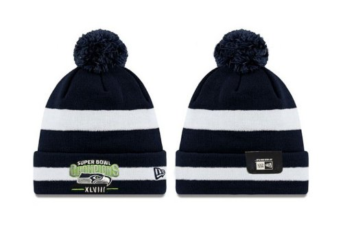 Seattle Seahawks Super Bowl XLVIII Champions Sport Knit Hat at Amazon.com