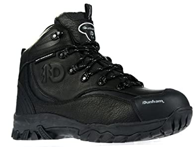 Buy Dunham By New Balance Acadia 402 Steel Toe Mens Black Work Boot Hiker by Dunham