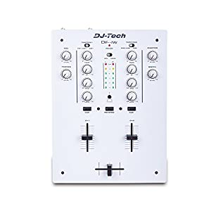 Dj Tech: Dif-1w Mk2 Dj Mixer W/innofader - White