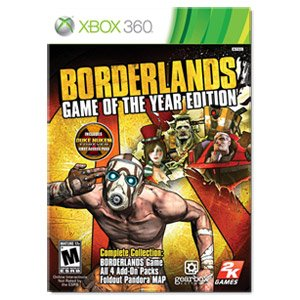 Borderlands Game Of The Year -Xbox 360 front-262312