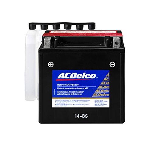 ACDelco ATX14BS Specialty AGM Powersports JIS 14-BS Battery (Honda Pilot Battery compare prices)