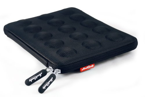 Hard Candy Cases Bubble Sleeve for Apple iPad - Black