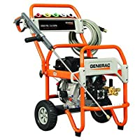 Generac 6416 3,500 PSI 3.6 GPM 302cc OHV Gas Powered Commercial Pressure Washer