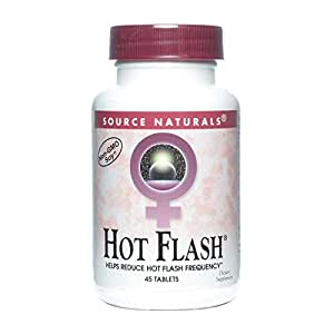 Hot Flash Source Naturals, Inc. 45 Tabs