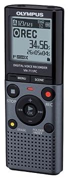 Dictaphone et Magn�tophone OLYMPUS VN711PC NOIR 2GO