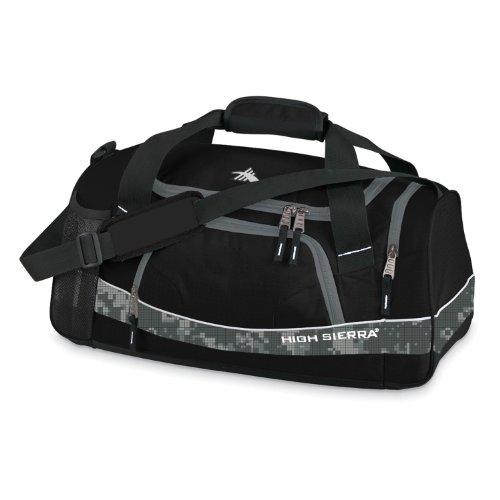 High Sierra Bubba Sport Duffel Black front-450479