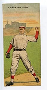 Buy 1911 T201 Mecca Double Folder Tobacco Hauser Lush St. Louis Cardinals by Hollywood Collectibles