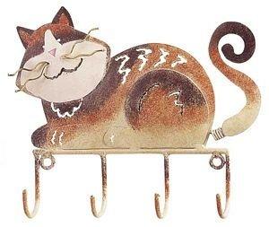 Tabby Cat Key Rack