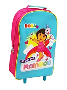 Dora Rainbow Wheeled Bag from Trade Mark Collections