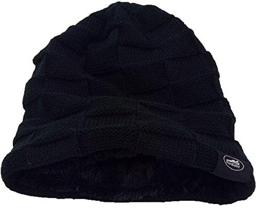 Knit-Beanie-Skull-Hat-Soft-Fleece-Lined-Slouchy-Winter-Cap-by-Run-Baby-Sport