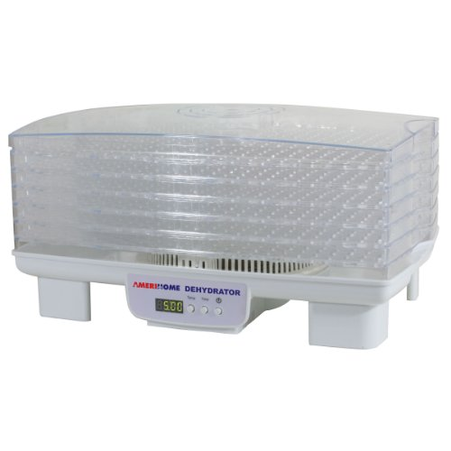 Amerihome Fd6 6-Tray Electric Food Dehydrator